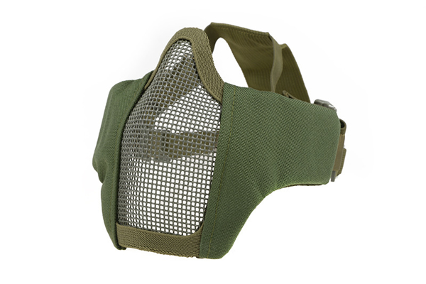 Picture of PDW Half Face Protective Mesh Mask - Olive