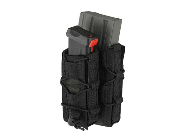 Bild på 8FIELDS MOLLE Combo 5.56/Pistol Mag Speed Pouch - Multicam Black