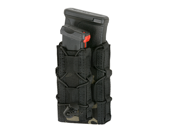 Bild på 8FIELDS Belt Mounted Combo 5.56/Pistol Mag Speed Pouch - Multicam Black