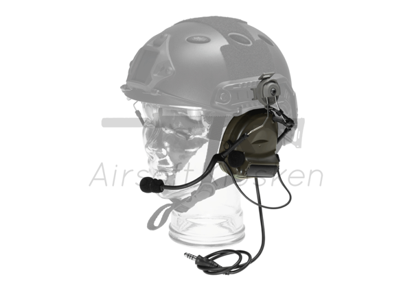 Picture of Z-Tactical Comtac II Headset FAST Standard Plug - Foliage Green