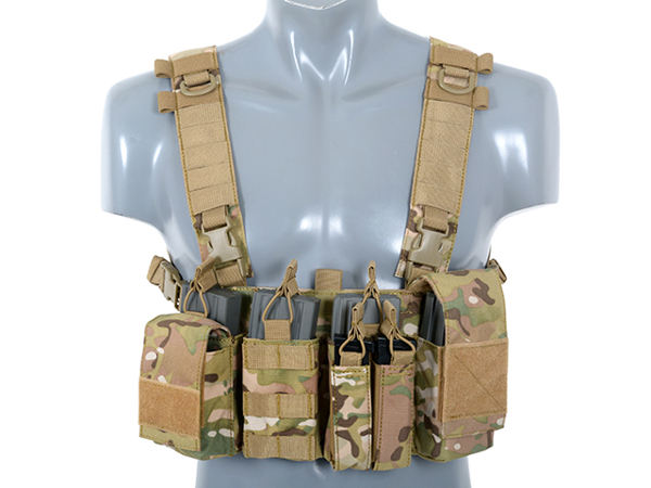 Picture of 8FIELDS Buckle Up Chest Rig V3 - Multicam