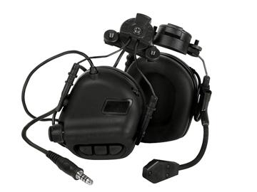 Bild på EARMOR M32H Mod 3 Aktiva Hörselskydd med mikrofon EXF - Svart