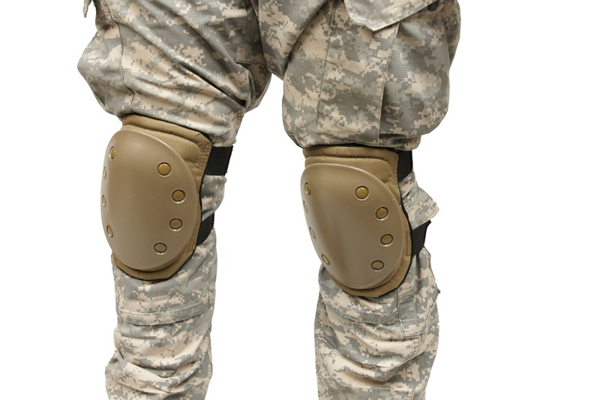 Picture of Set of knee protection pads - sand