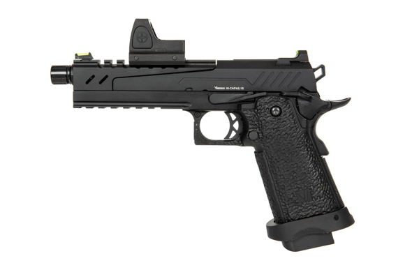 Bild på Hi-Capa 5.1 Split Side Pistol Black (with BDS Sight) Vorsk