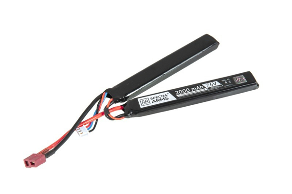 Picture of LiPo 7.4V Battery 2000mAh 15/30C - Nunchuck - T-Connect (Deans)