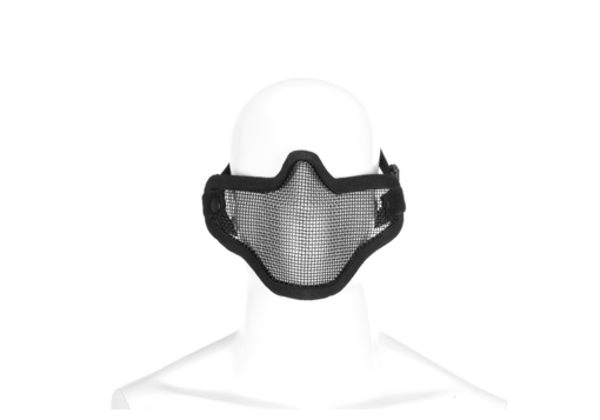 Picture of Steel Half Face Mask Black (Invader Gear)