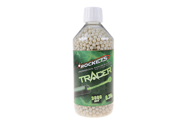 Picture of Rockets Tracer 0,20g BB pellets 3000 pieces - bottle