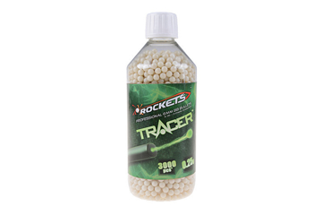 Picture of Rockets Tracer 0,25g BB pellets 3000 pieces - bottle