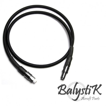 Picture of Balystik 8mm black braided line for HPA regulator EU