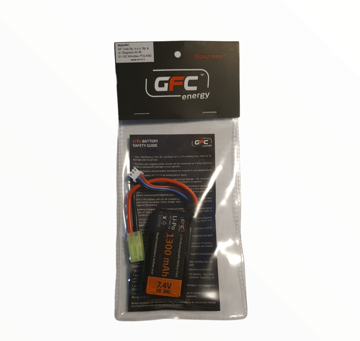 Bild på GFC Li-Po Batteri 1300mAh PEQ-box 7,4V 20C