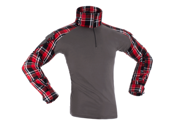 Picture of Invader Gear Flannel Combat Shirt - Red storlek L