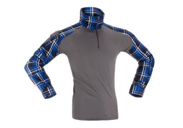 Bild på Invader Gear Flannel Combat Shirt - Blue M