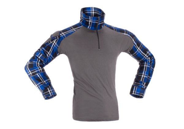 Picture of Invader Gear Flannel Combat Shirt - Blue M